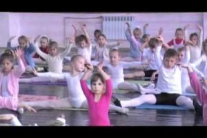 Вступительный экзамен в 1 класс и фрагмент урока по гимнастике (2 класс)