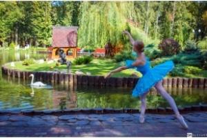 "Фотопроект ""Балерины и город"""