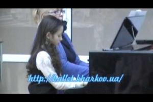 """Фрагмент концерта """"Мы играем ансамбли"""" 23.03.13"""