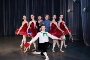 Концерт классической вариации на сцене школы 3 марта 2021 года